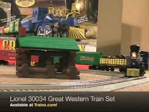 Lionel 30034 Great Western Train Set from TRAINZ.COM