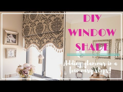 Make your own Roman Shade!