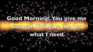 Good Morning by Mandisa lyric
