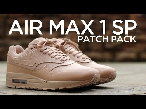 quality design 81b8e 40d19 Closer Look  Nike Air Max 1 SP Patch - Sand