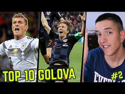 TOP 10 GOLOVA SVJETSKOG PRVENSTVA #2 ft.Modric, Kroos...