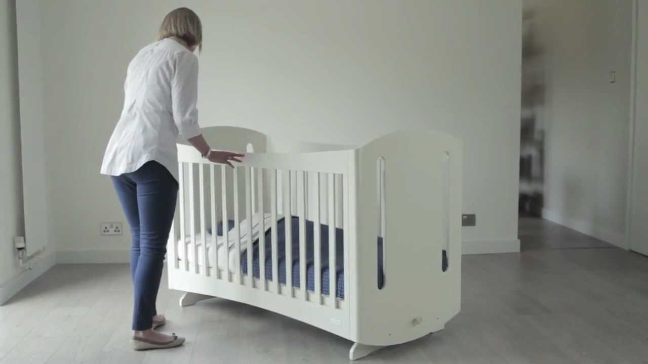 Startrite furniture Brook baby rocking cot crib htwww