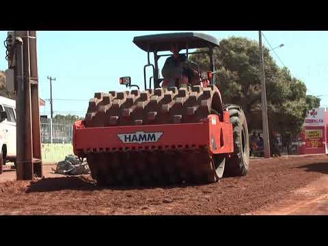Secretaria de obras inicia recapeamento do asfalto em Confresa