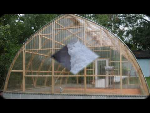 Gothic arch greenhouses youtube for Gothic arch greenhouse plans