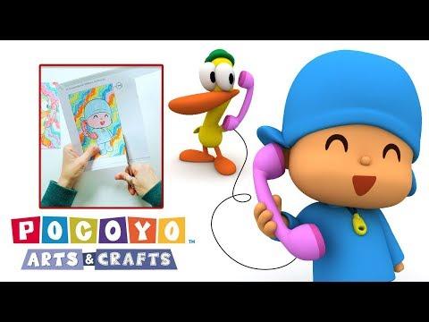 Pocoyo Arts & Crafts: Pocoyo's Amazing Phone | CHILDREN'S DAY