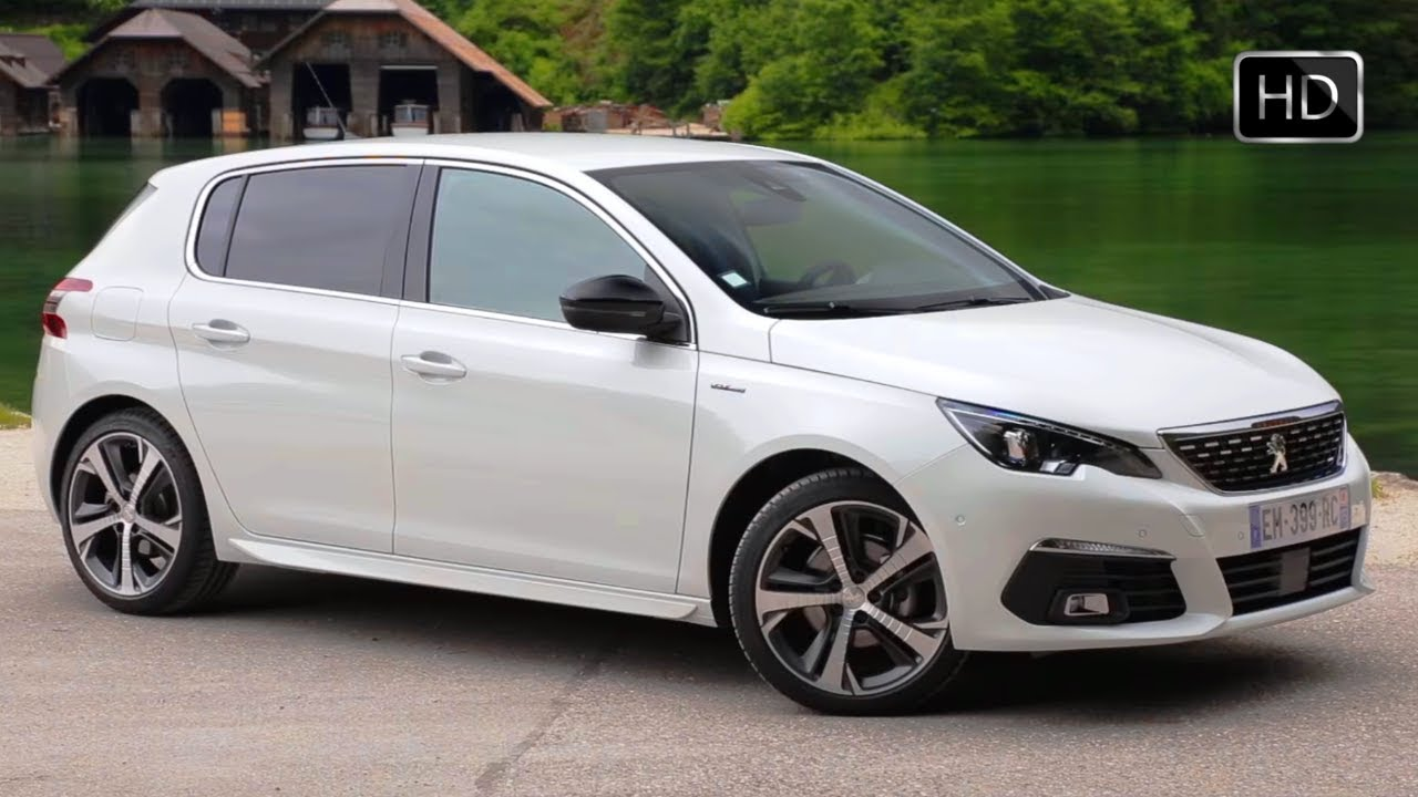 2018 peugeot 308 gt line facelift design overview driving footage hd youtube. Black Bedroom Furniture Sets. Home Design Ideas