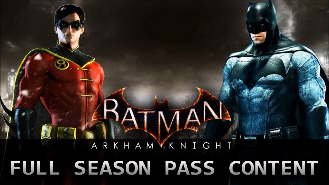 how to play downloadable content on batman arkham knight