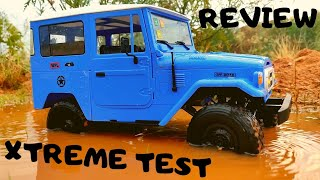 FULL REVIEW - WPL C34KM - BEST SCALE RC CRAWLER UNDER 100$ - EXTREME TEST RUN - RC TOYOTA FJ40