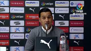Rueda de prensa Girona FC vs CD Mirandés