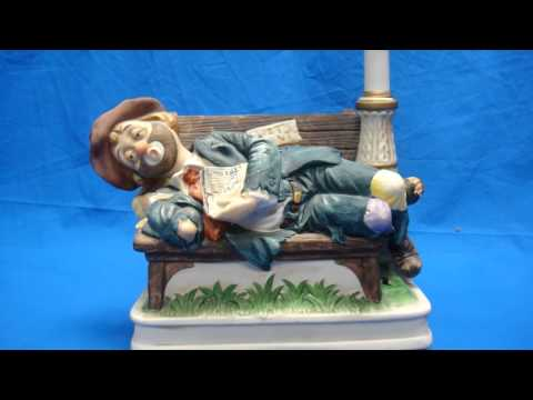 Melody In Motion Wall Street Willie Music Box
