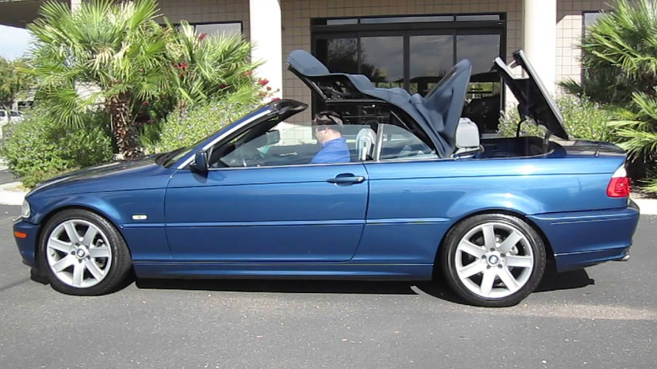 2001 bmw 325ci owners manual