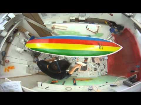 Shape Surf réplique Mark Richards modèle Rétro Twin 1982