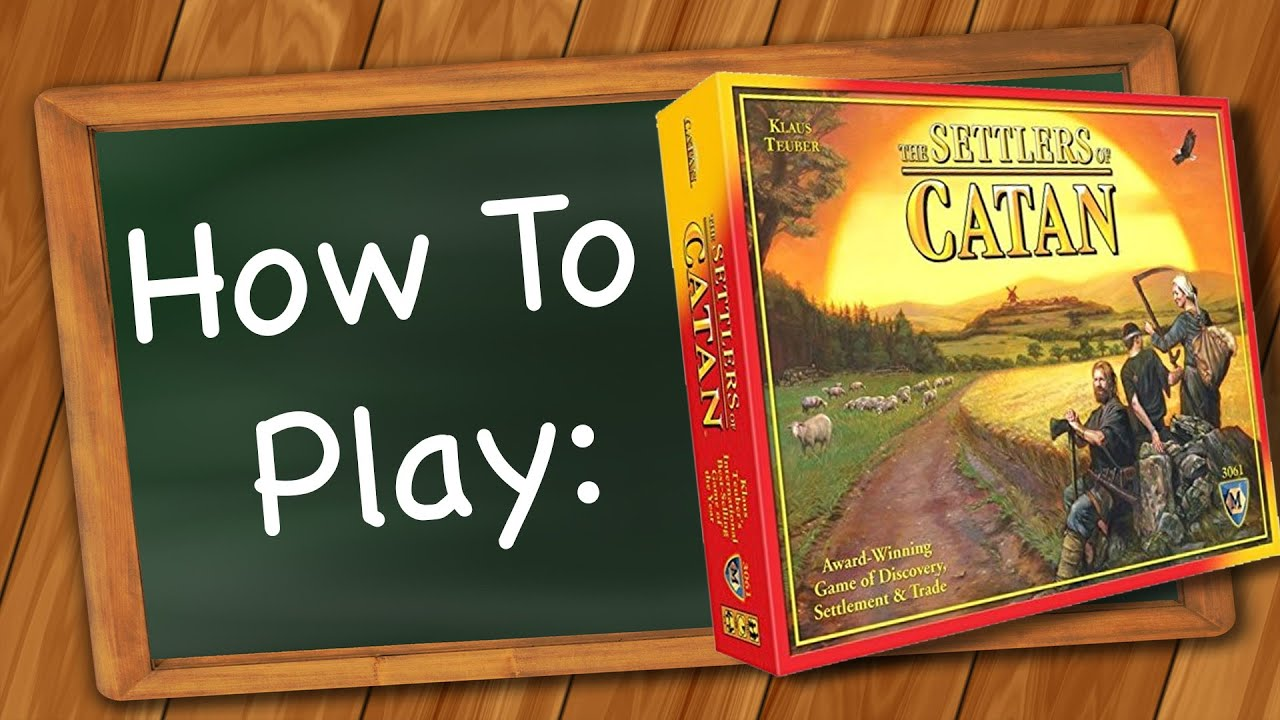 Watch How to Play Settlers of Catan video