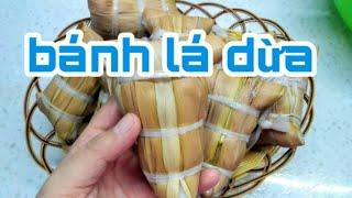 HƯỚNG DẪN CHI TIẾT BÁNH LÁ DỪA CỦA NỘI TÔI | COCONUT LEAF CAKE  (món ngon dễ làm)