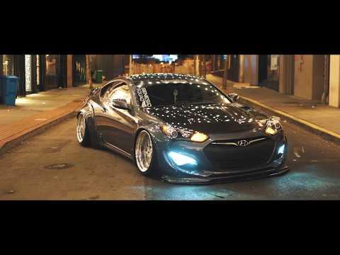 4K   Stevens Widebody Bagged Genesis Coupe