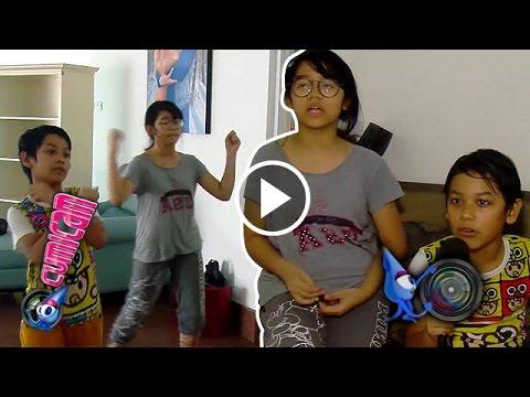 Wow, Nino dan Cinta Jago Dance - Cumicam 26 Oktober 2016