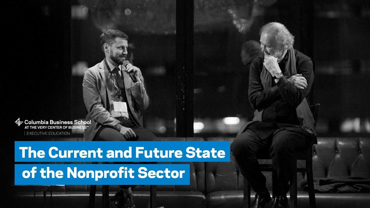 The Current and Future State of the Nonprofit Sector