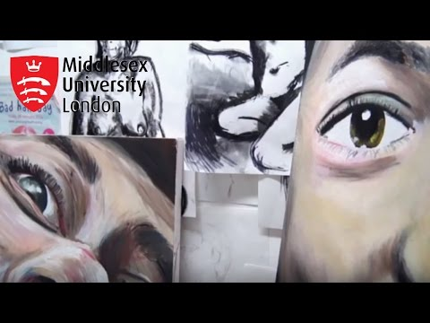 Specialist Facilities: Fine art studios at Middlesex University