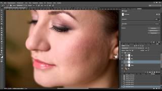 Photoshop: виды ретуши (Portraiture, ретушь маской, частотное разложение, dodge and burn)