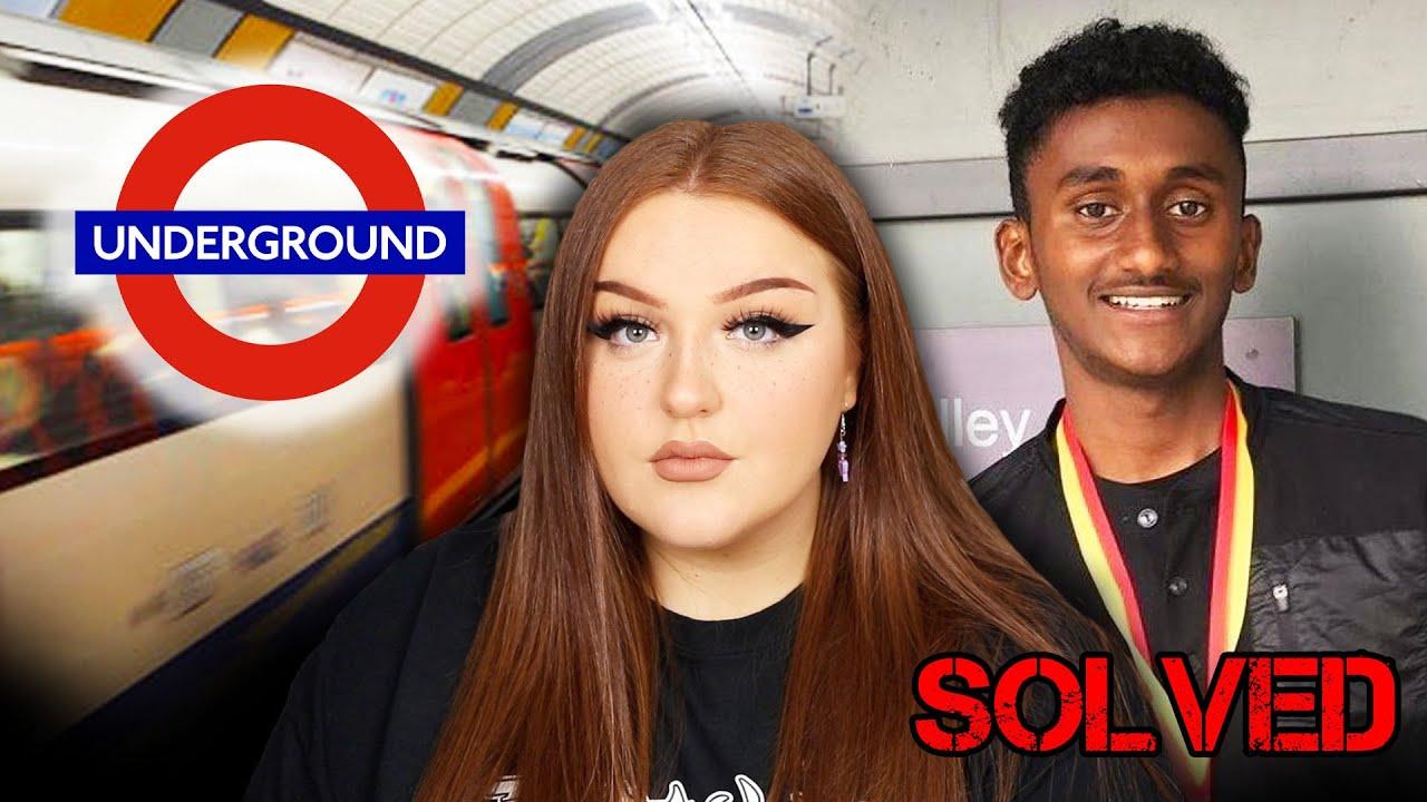 MURDERED ON THE LONDON UNDERGROUND