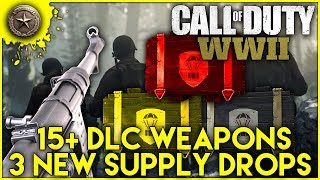 COD: WW2 | 15+ NEW DLC WEAPONS | 3 New Supply Drops | Call Of Duty: World War 2