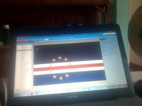 Cabo Verde 199 Banderas del mundo