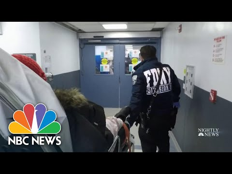 New York doctors overwhelmed amid urgent need for ventilators | NBC Nightly News