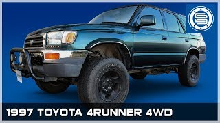"1997 4WD Toyota 4Runner | 3"" Front / 2"" Rear Lift Kit with Diff Drop"