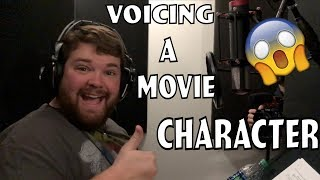 Behind the Scenes Voicing A Movie Character! - Ft. Erik Peter Carlson