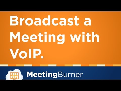 How to Host Webinars & Meetings with VoIP