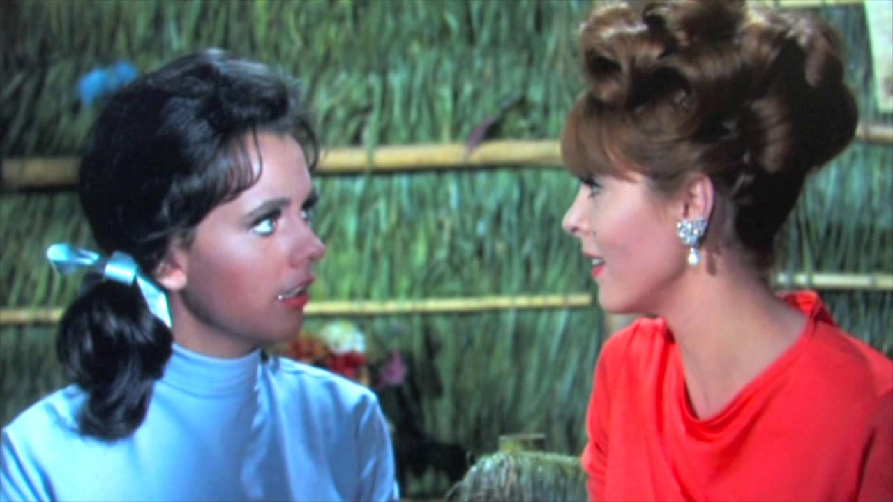 Fun Ginger and Mary Ann scene from GILLIGAN\u0027S ISLAND - YouTube
