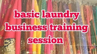 Basic laundry business training 2018.out door laundry  training    2018..