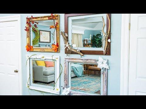 DIY Seasonal Mirrors - Home & Family