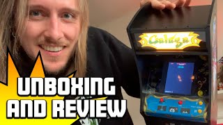 Review: Galaga Quarter Arcade by Numskull, plus unboxing