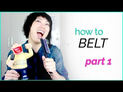 How to Belt -Singing Techniques Part 1