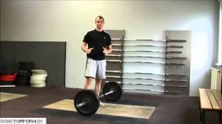 Kreuzheben - Von Anfang bis Ende vom Gewichtheber