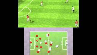 FIFA 13 3DS gameplay video - Arsenal vs Chelsea