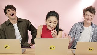 """To All The Boys I've Loved Before"" Cast Finds Out Which Character They Really Are"