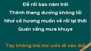 Chuyen Dem Mua Karaoke - Cẩm Ly - CaoCuongPro