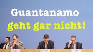 Guantanamo geht gar nicht! - Komplette Bundespressekonferenz vom 6. Januar 2017