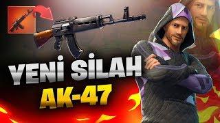 YENİ SİLAH AK-47! (Türkçe Fortnite)