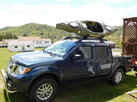Gen 2 Nissan Frontier OEM Roof Rack DIY Upgrade Mod