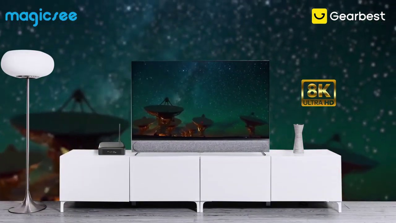 Magicsee N5 Plus Android 9 0 8K Smart TV Box - Gearbest com