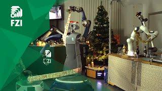 FZI Living Lab Christmas Robotics 2017 − Don't be late for Christmas!