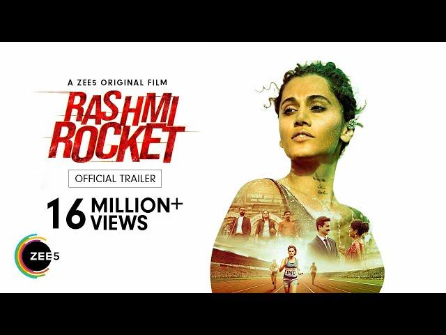 Rashmi Rocket | Taapsee Pannu | Official Trailer | ZEE5 Original Film | Watch Now on ZEE5