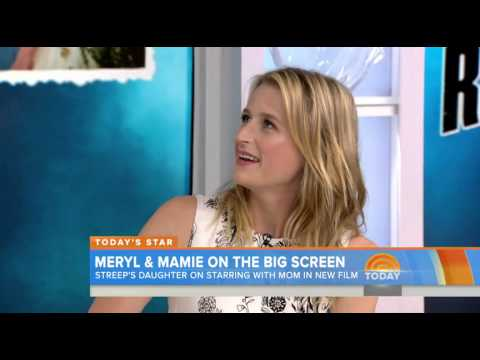 Mamie Gummer  Mamie Gummer: Acting mean on camera to mom Meryl Streep was 'a bit alarming'
