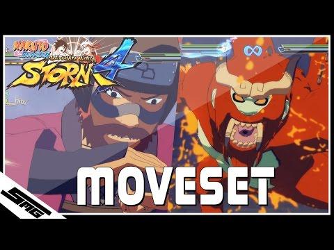 Naruto Ultimate Ninja Storm 4 - Roshi COMPLETE Moveset