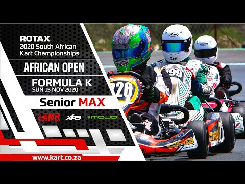 2020 SARMC African Open - Formula K - Senior Max