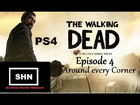 the walking dead ps4 season 1 episode 4 around every. Black Bedroom Furniture Sets. Home Design Ideas