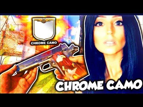CALL OF DUTY WW2 CHROME CAMO GRIND W/DOOM LUCKYGIRL!!!